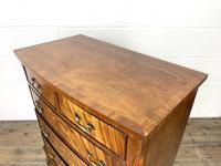 Small 20th Century Walnut Chest of Drawers (7 of 10)