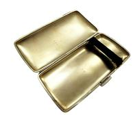 Antique Edwardian Sterling Silver Cigar Case 1904 (3 of 8)