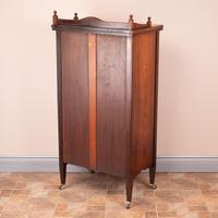 Inlaid Rosewood Music Display Cabinet (13 of 15)