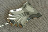Genuine Victorian Brass Fire Irons Companion Set Tongs Poker Shovel (6 of 7)