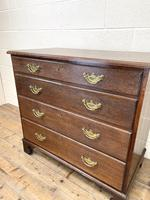 19th Century Antique Oak Chest of Drawers (5 of 9)