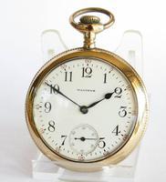 Antique Waltham Bond Street Pocket Watch