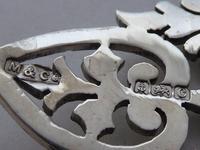 London 1902 Hallmarked Solid Silver Nurses Belt Buckle Marples & Co (6 of 8)