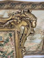 Early 19th Century Giltwood & Silk Screen (4 of 10)