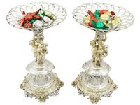 Sterling Silver Centrepieces - Antique Victorian 1860 (21 of 24)