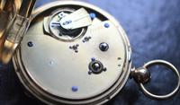 Victorian 18k Gold Gents Chronograph Pocket Watch (4 of 5)