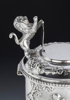 Attractive Early 20th Century Silver Topped Claret Jug (8 of 8)