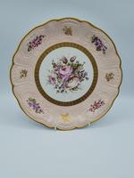Vintage German Porcelain Plates / Chargers Bavarian /Set of Three (24 of 32)