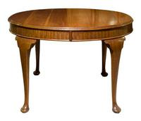 Mahogany Oval Dining Table c1900 (3 of 5)