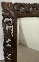 Carved Oak Mirror - Late 19th Century (2 of 6)