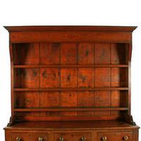 Georgian Oak Dresser & Rack (3 of 8)
