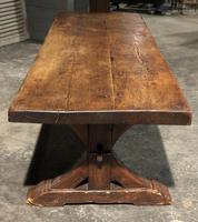 Huge Rustic Chestnut French Farmhouse Dining Table (2 of 27)