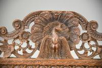 Anglo Indian Carved Padouk Chair (6 of 12)