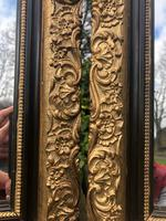 Pair of Antique English Gilt Framed Mirrors (5 of 5)