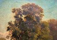 Antoine Chintreuil Fine 19th Century French Barbizon Landscape Oil Painting (3 of 13)