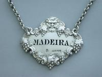 Victorian Cast Silver Bacchus Mask Wine Label 'Madeira' (7 of 10)