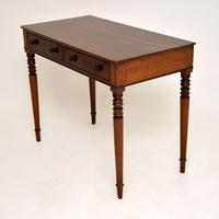 Antique William IV  Mahogany Writing Table (3 of 9)