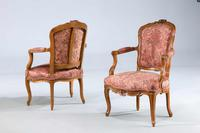 Pair of Louis XV Period Fauteuils (3 of 5)