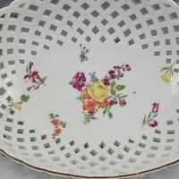 Fine Large Chelsea Red Anchor Porcelain Basket c.1750-1758 (12 of 18)