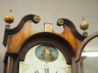 George III Inlaid Mahogany Longcase Clock by Charles Campbell, Boness (10 of 10)