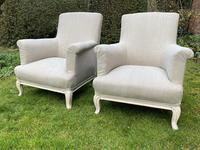 Pair of Large French Armchairs (3 of 7)