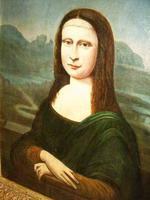 Mona Lisa Old Master 18th Century Oil Portrait Painting on Canvas after Leonardo Da Vinci (8 of 9)