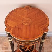 Fine Quality French Marquetry & Ormolu Mounted Occasional Table (22 of 24)