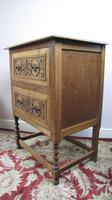 Light Oak Chest on Stand (4 of 4)