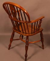 Set of 3 low Back Windsor Chairs (8 of 8)