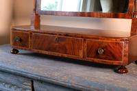 19th Century Mahogany Dressing Table Mirror with Three Drawers (15 of 21)