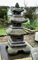 Weather Worn Tall Cast Pagoda Garden Ornament (3 of 8)