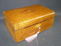 Victorian Antique Mahogany Domed Writing Slope Document box Tunbridge Centre (5 of 5)