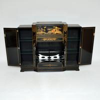 Art Deco Lacquered Chinoiserie Drinks Cabinet / Sideboard (5 of 16)