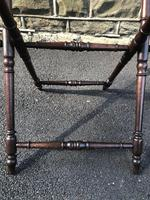 Antique Oak Butlers Tray Stand (4 of 5)