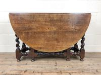 Antique 18th Century Welsh Oak Gateleg Table, Folding Table, Dining Table or Kitchen Table (8 of 12)