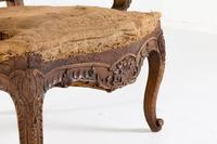 Pair of 19th Century French Oak Armchairs (6 of 9)