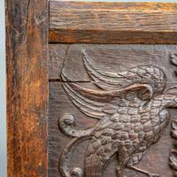 Carved Oak Bench (6 of 9)