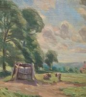 William Francis Burchell Exhibited Impressionist Oil Painting (8 of 12)