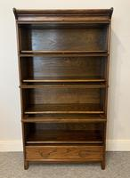 Antique Oak Stacking Lawyer's Bookcase (11 of 16)
