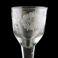 18th Century George II Wine Glass (2 of 8)