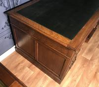 Edwardian Mahogany Pedestal Desk (4 of 5)