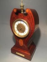 Mahogany Mantle Clock c.1875