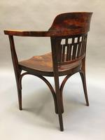 Secession Desk Chair by Otto Wagner, stamped (4 of 11)