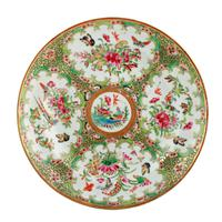 19th Century Chinese Canton Plate (2 of 8)