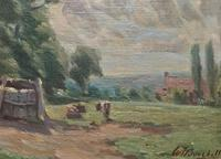 William Francis Burchell Exhibited Impressionist Oil Painting (6 of 12)