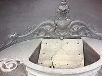 Antique Cast Iron Fireplace Insert with Hob Shelves (3 of 3)