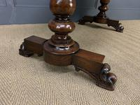 Early Victorian Rosewood Library Table (13 of 15)