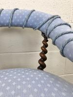 Victorian Mahogany Barley Twist Chair (8 of 10)