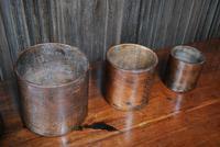 Set of 4 Treen Bushel Measures (4 of 5)