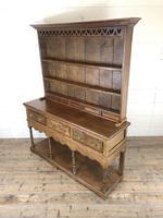 Early 20th Century Antique Oak Pot Board Welsh Dresser (11 of 18)